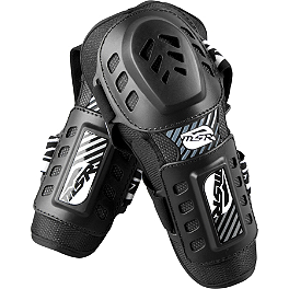 2013 MSR Gravity Elbow Guards - 2013 Fox Titan Sport Elbow Guards
