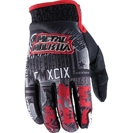 2013 MSR Metal Mulisha Broadcast Gloves - Main