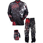 2013 MSR Metal Mulisha Combo - Broadcast OTB -  Dirt Bike Pants, Jersey, Glove Combos