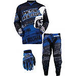 2013 MSR Metal Mulisha Combo - Maimed - MSR Dirt Bike Pants, Jersey, Glove Combos