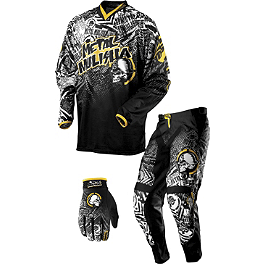 2013 MSR Metal Mulisha Combo - Volt - 2013 Answer Rockstar MSN Collaboration Combo