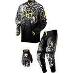 2013 MSR Metal Mulisha Combo - Volt - FLY-SLIP-ONS Fly Dirt Bike