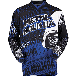 2013 MSR Metal Mulisha Maimed Jersey - 2013 MSR Metal Mulisha Broadcast Jersey