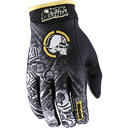 2013 MSR Metal Mulisha Volt Gloves - 2013 MSR Metal Mulisha Broadcast Gloves