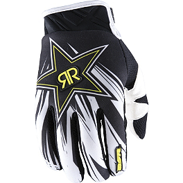 2013 MSR Rockstar Gloves - 2013 Fox Dirtpaw Gloves - Rockstar