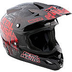2013 MSR Velocity Helmet - Metal Mulisha Broadcast - MSR ATV Protection