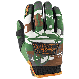 2014 MSR Metal Mulisha Hunt Gloves - 2014 MSR Metal Mulisha Optic Gloves