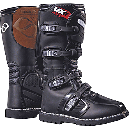 2014 MSR VX1 ATV Boots - Moose M1 Boots With ATV Sole