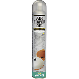 Motorex Air Filter Oil Spray 655 - 750ml - Motorex Bio Air Filter Cleaner - 1 Liter