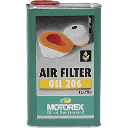 Motorex Foam Air Filter Oil 206 - 1 Liter - Motorex Bio Air Filter Cleaner - 1 Liter