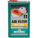 Motorex Foam Air Filter Oil 206 - 1 Liter - ATV Air Filter Oil