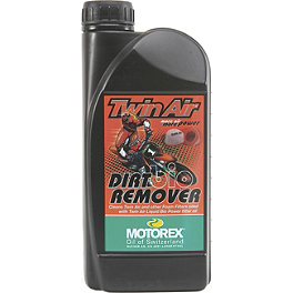 Motorex Racing Bio Dirt Remover Air Filter Cleaner - 800g - Motorex Foam Air Filter Oil 206 - 1 Liter