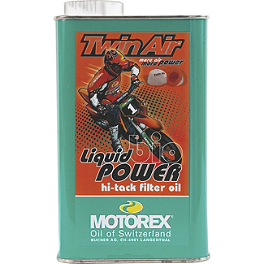 Motorex Racing Bio Liquid Power Air Filter Oil - 1 Liter - Motul Air Filter Clean