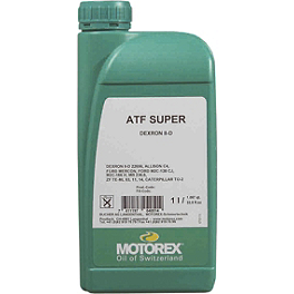 Motorex ATF Super Transmission Fluid - 1 Liter - Liquid Performance Mini Bike Racing Coolant & Antifreeze - 64oz