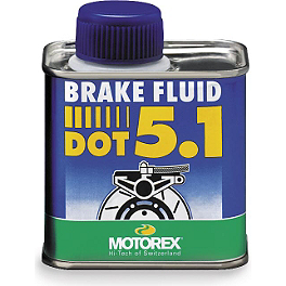 Motorex DOT-5.1 Brake Fluid - 250ml - 2000 Kawasaki KX500 ASV F1 Clutch Lever, For Use With Magura Hydraulic Clutch