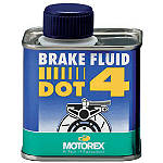 Motorex DOT-4 Brake Fluid - 250ml - Motorex Motorcycle Fluids and Lubricants