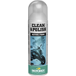 Motorex Clean & Polish Spray - Motorex Silicone Spray