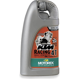 Motorex KTM Racing 4T Oil - Motorex Cross Power 4T Oil