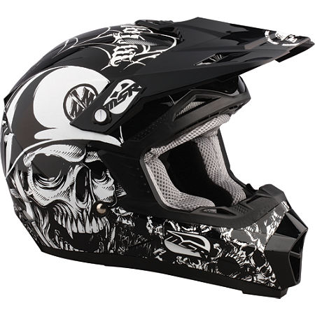 2012 MSR Youth Assault Helmet - Metal Mulisha - Main