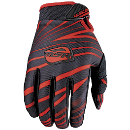 2012 MSR Youth Axxis Gloves - 2011 Fly Racing Youth Kinetic Gloves