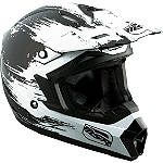 2013 MSR Youth Assault Helmet -  Motocross Chest and Back Protection