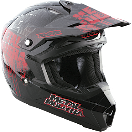 2013 MSR Youth Assault Helmet - Metal Mulisha Broadcast - 2013 MSR Youth Metal Mulisha Combo - Broadcast