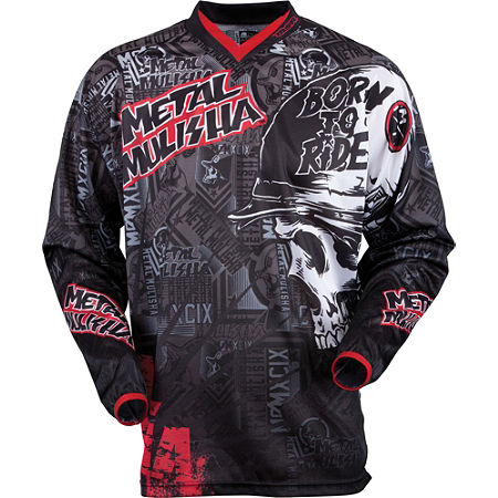 2013 MSR Youth Metal Mulisha Broadcast Jersey - Main