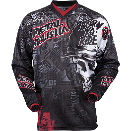 2013 MSR Youth Metal Mulisha Broadcast Jersey - 2014 MSR Youth Metal Mulisha Optic Jersey