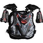 2013 MSR Youth Clash Deflector -  Motocross Chest and Back Protection