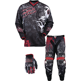 2013 MSR Youth Metal Mulisha Combo - Broadcast - 2013 Troy Lee Designs Youth GP Air Combo - Cyclops