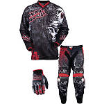 2013 MSR Youth Metal Mulisha Combo - Broadcast - MSR ATV Pants, Jersey, Glove Combos