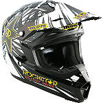 2013 MSR Youth Assault Helmet - Rockstar - MSR Dirt Bike Helmets and Accessories