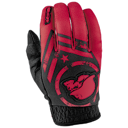2014 MSR Youth Metal Mulisha Optic Gloves - 2014 Answer Youth Skullcandy Gloves