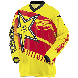 2014 MSR Youth Rockstar Jersey - 2013 Suzuki RMZ450 Talon Factory Front/Rear Wheel Combo - Magnesium/Black