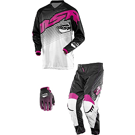 2014 MSR Girl's Starlet Combo - 2014 Fly Racing Girl's Kinetic Overboot Combo