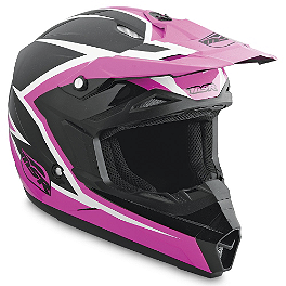 2014 MSR Girl's Assault Helmet - Hardline Universal Training Wheels