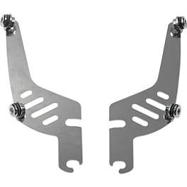 Memphis Shades Quick-Change Plate-Only Kit For Fats And Slim Windshields - 1998 Suzuki Intruder 800 - VS800GL Memphis Shades Trigger-Lock Mounting Kit For Sportshields