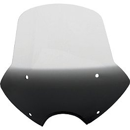 Memphis Shades Speed Demon Sportshield - 2007 Honda Shadow Aero 750 - VT750CA Memphis Shades Batwing Fairing Without Mounts