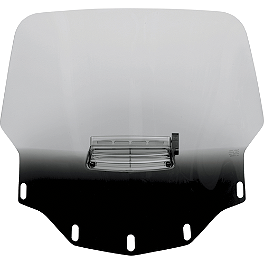 Memphis Shades Standard Height Vented Windshield - Slipstreamer Replacement Windshield