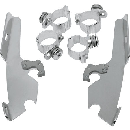 Memphis Shades Trigger-Lock Mounting Kit For Fats And Slim Windshields - Main