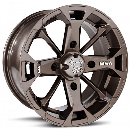 MotoSport Alloys Elixir Front Wheel - 14X7 Bronze - Main