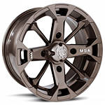 MotoSport Alloys Elixir Rear Wheel - 14X7 Bronze - Motosport Alloys ATV Tire and Wheels