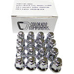 MotoSport Alloy 3/8X24 Lug Nut Kit - Dirt Bike Wheel Hardware