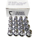 MotoSport Alloy 10mm X 1.25 Lug Nut Kit - Dirt Bike Wheel Hardware