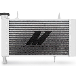 Mishimoto Aluminum Radiator - 2006 Kawasaki KFX400 Moose Hi-Performance Cooling Fan