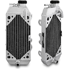Mishimoto X Braced Radiator - Left - Fluidyne Radiator - Left
