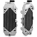 Mishimoto X Braced Radiator - Left - Dirt Bike Radiators and Accessories