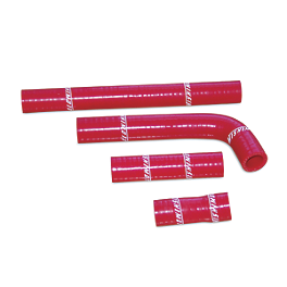 Mishimoto Radiator Hose Kit - Red - CV4 Radiator Hose Kit - Red