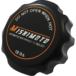 Mishimoto 1.3 Bar Rated Radiator Cap Small - Mishimoto Temperature Gauge 1.3 Bar Rated Radiator Cap Small