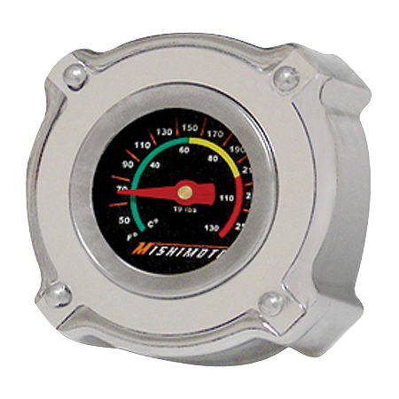 Mishimoto Temperature Gauge 1.3 Bar Rated Radiator Cap Small - Main